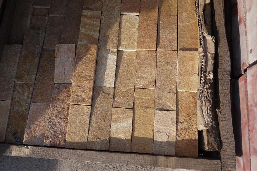 Интерьерный натуральный камень - Златалит декоративный камень - 10