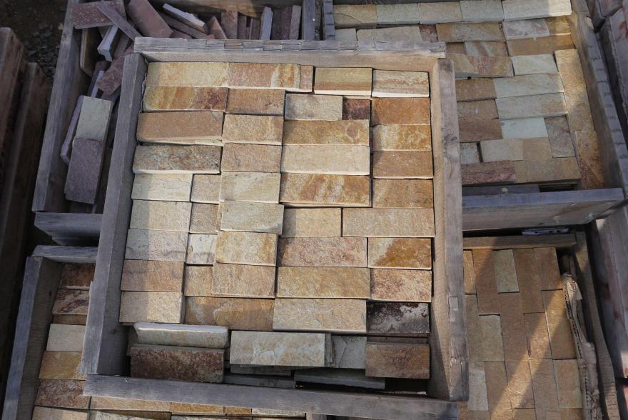 Интерьерный натуральный камень - Златалит декоративный камень - 12