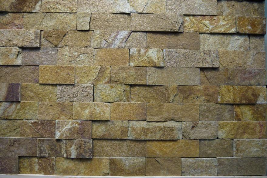 Интерьерный натуральный камень - Златалит декоративный камень - 23