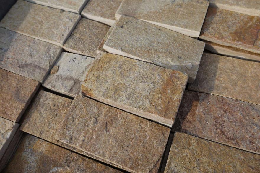 Интерьерный натуральный камень - Златалит декоративный камень - 9