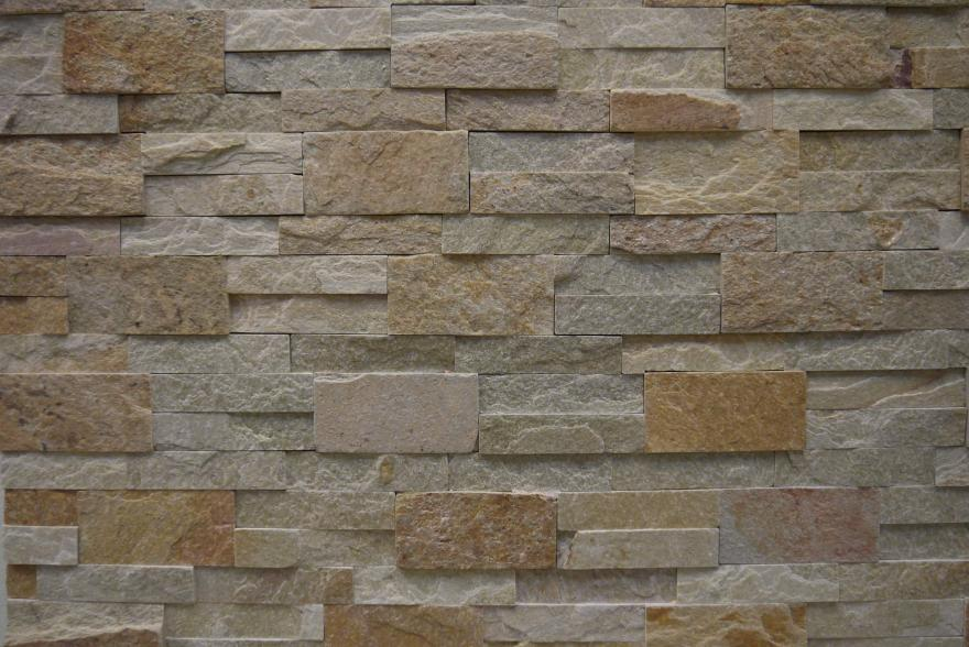 Интерьерный натуральный камень - Златолит 3-6