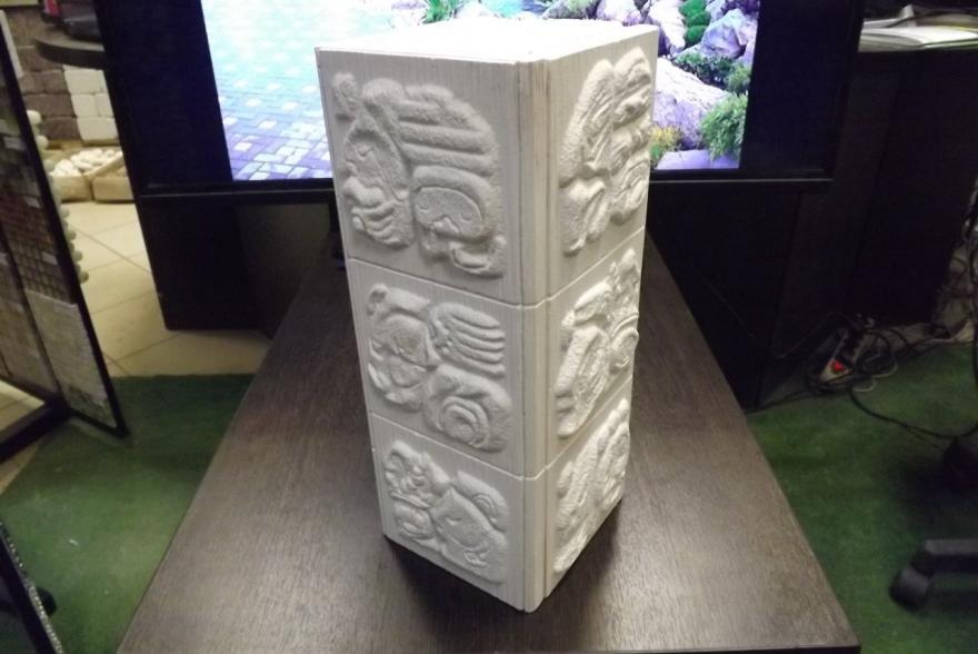Искусственный камень из гипса - Угол мая наружный