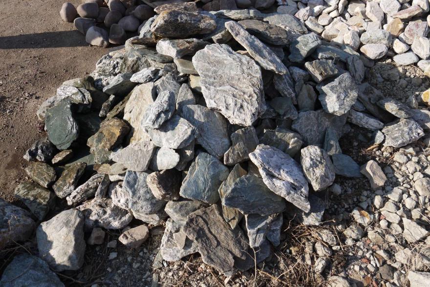 Ландшафтный камень - Филлит