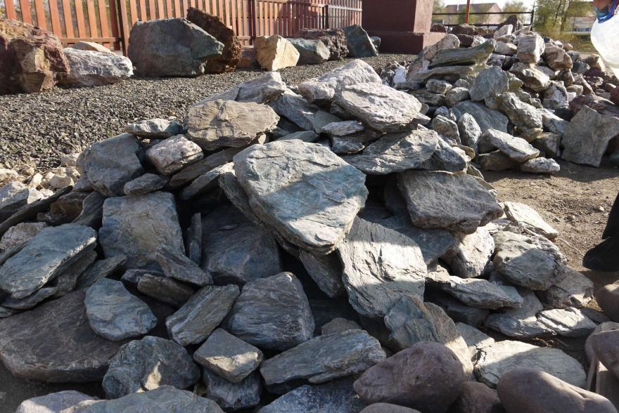 Ландшафтный камень - Филлит - 7