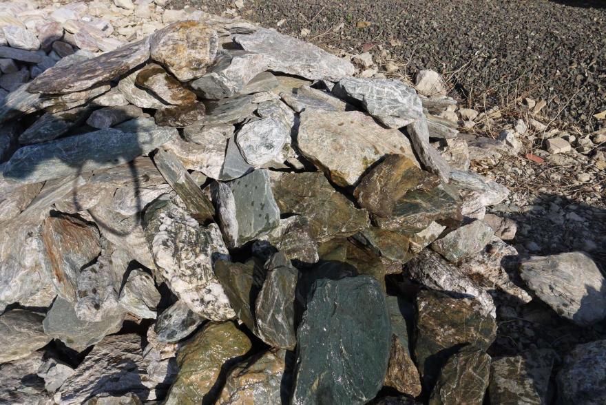 Ландшафтный камень - Филлит - 9