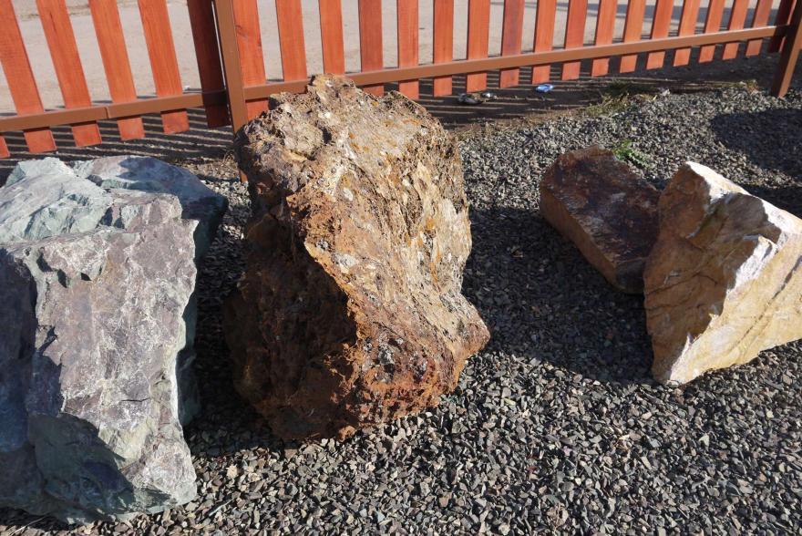 Ландшафтный камень - Паутинка