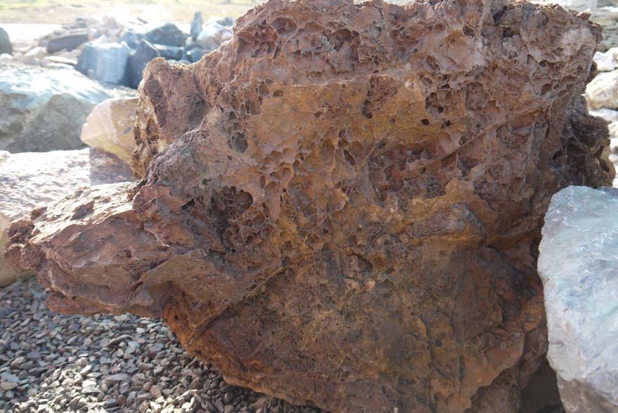 Ландшафтный камень - Паутинка - 2