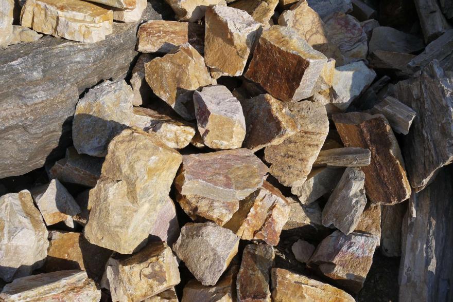 Ландшафтный камень - Радуга