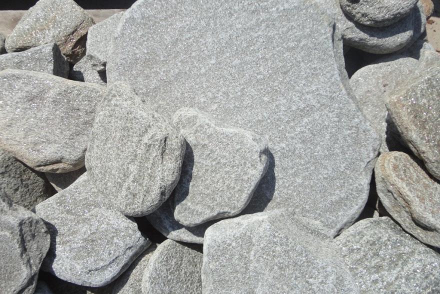 Ландшафтный камень - Серебрит галтованный