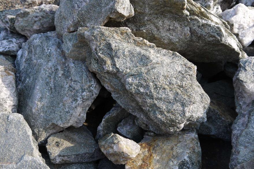 Ландшафтный камень - Серебрит окварцованный - 1