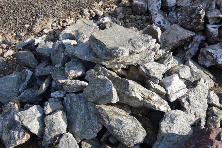 Ландшафтный камень - Серебрит окварцованный - 2