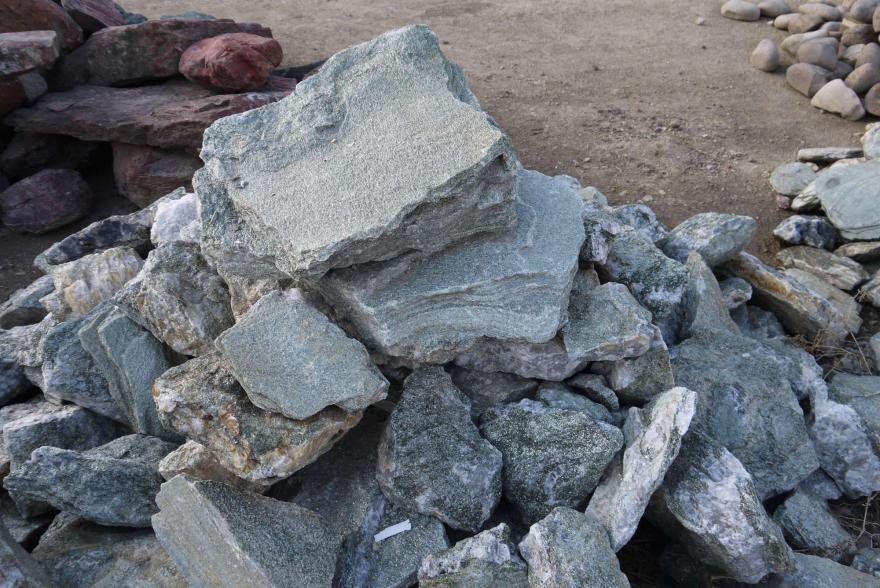 Ландшафтный камень - Серебрит окварцованный - 5