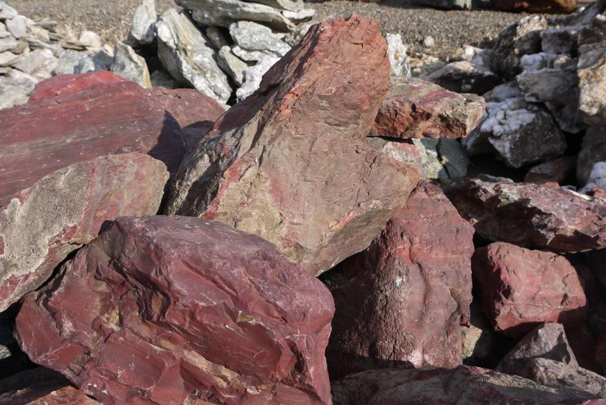 Ландшафтный камень - Яшма окварцованная