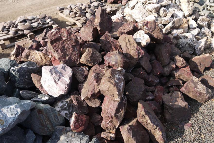 Ландшафтный камень - Яшма окварцованная - 10