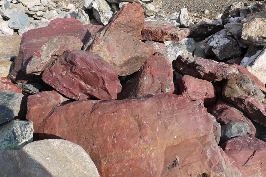 Ландшафтный камень - Яшма окварцованная - 14