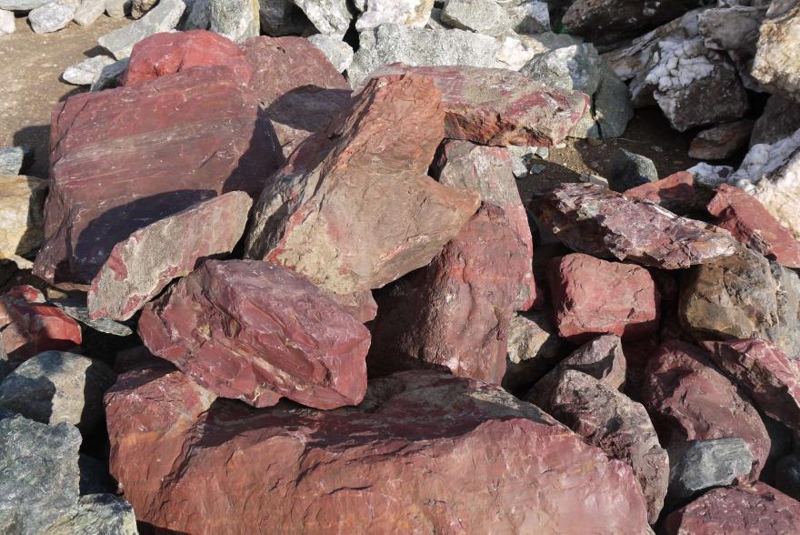 Ландшафтный камень - Яшма окварцованная - 15
