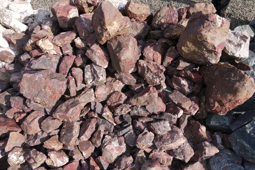 Ландшафтный камень - Яшма окварцованная - 2