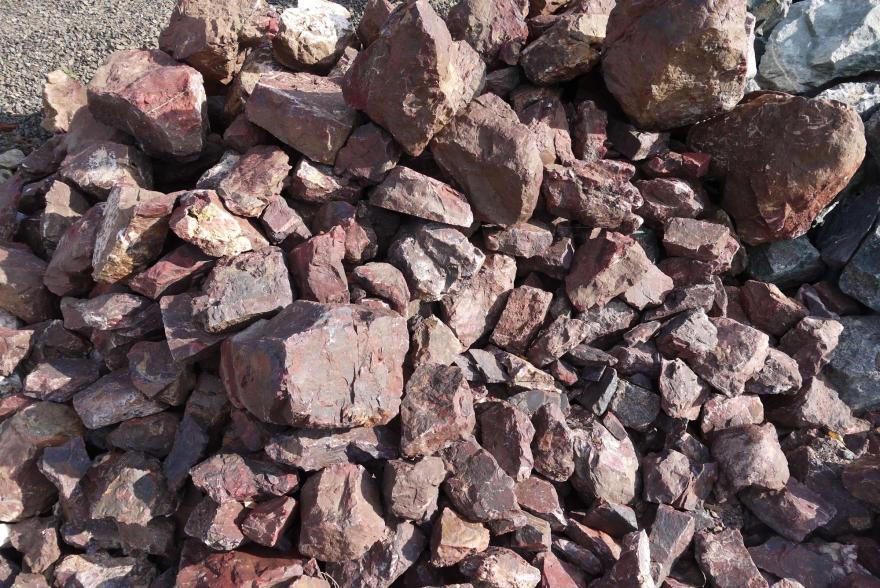 Ландшафтный камень - Яшма окварцованная - 3