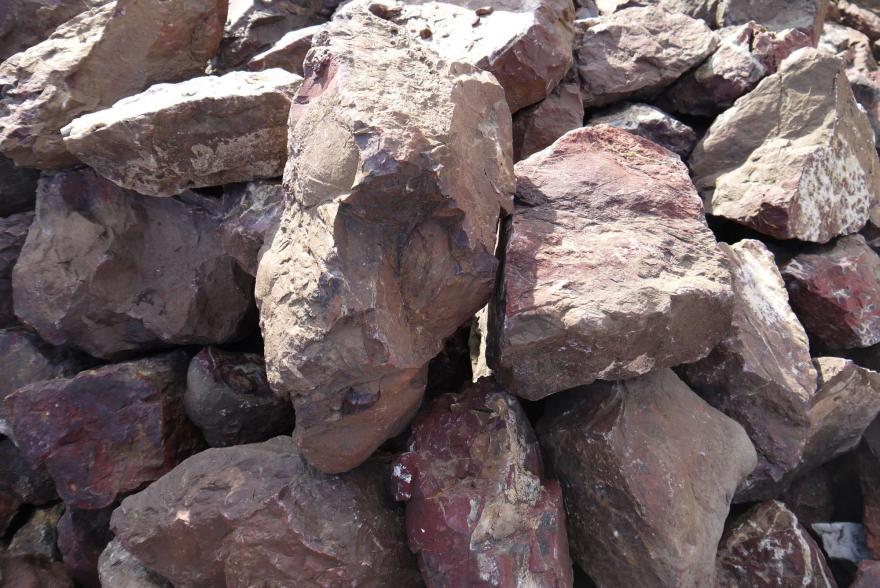 Ландшафтный камень - Яшма окварцованная - 6