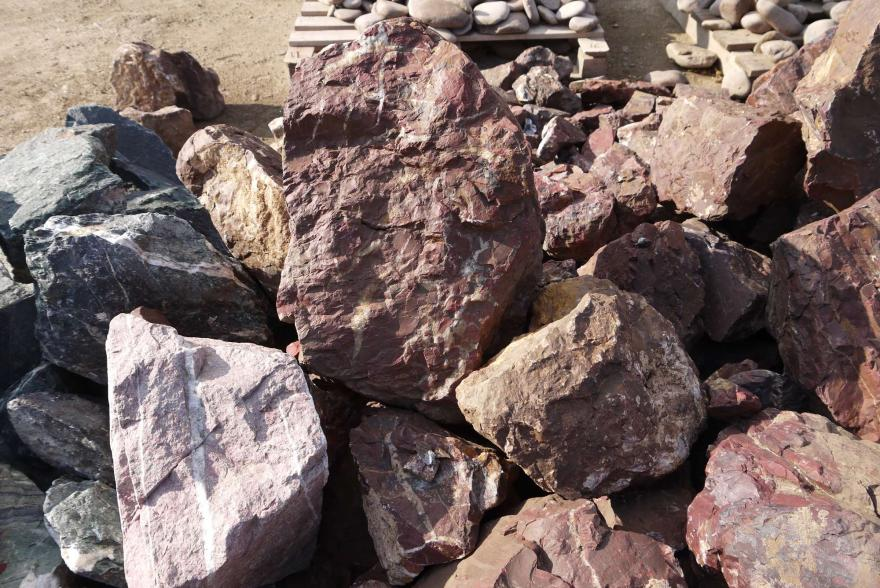 Ландшафтный камень - Яшма окварцованная - 7