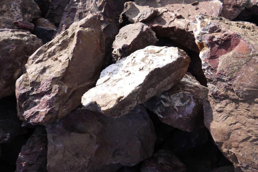 Ландшафтный камень - Яшма окварцованная - 8