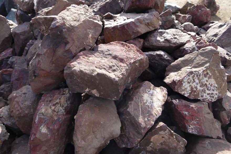 Ландшафтный камень - Яшма окварцованная - 9
