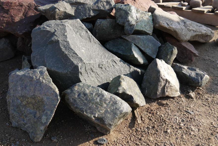 Ландшафтный камень - Змеевик - 3
