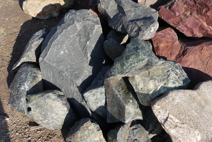 Ландшафтный камень - Змеевик - 4