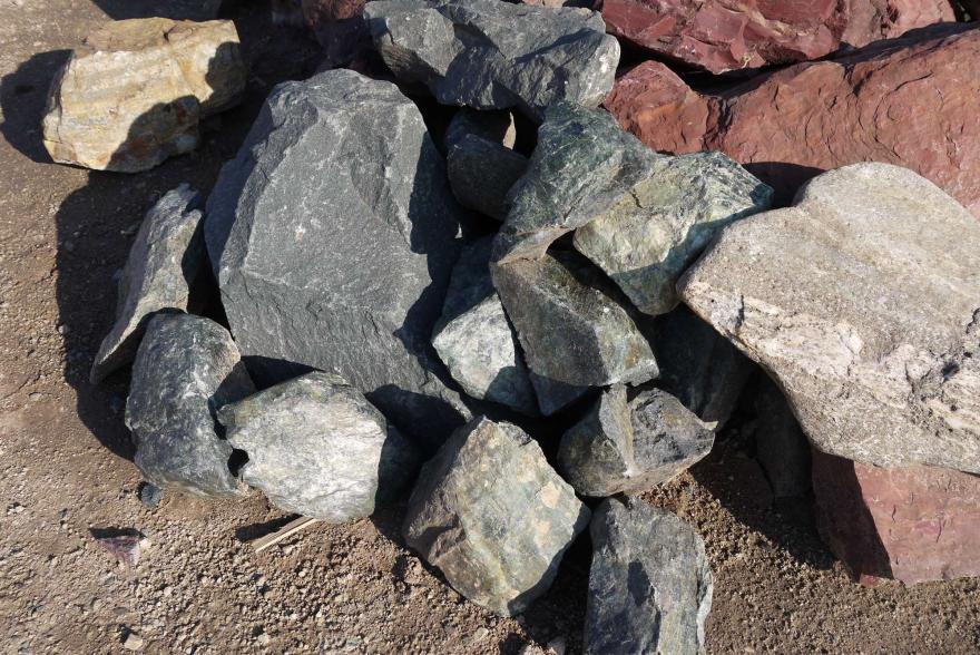 Ландшафтный камень - Змеевик - 8