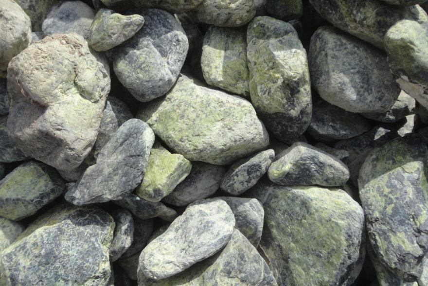 Ландшафтный камень - Змеевик галтованный - 1