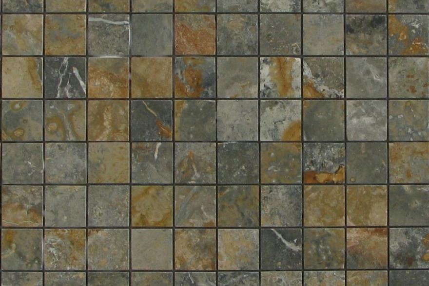 Мозаика каменная - Мозаика Травертин Зеленый
