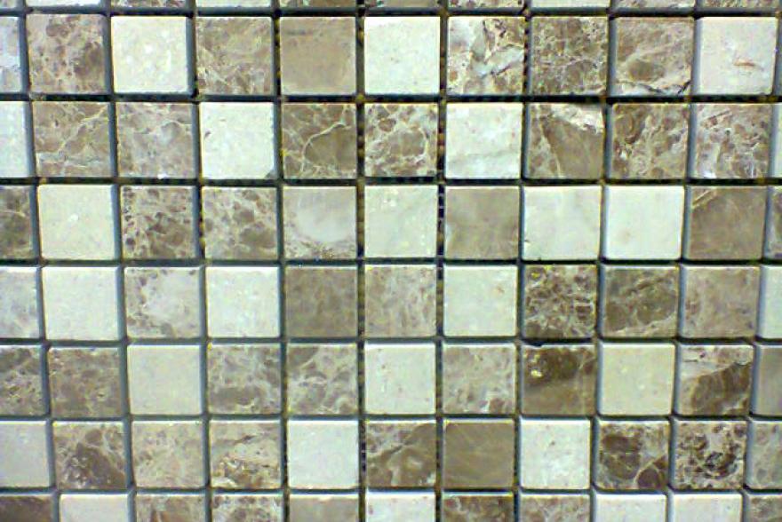 Мозаика каменная - Мрамор Emperador