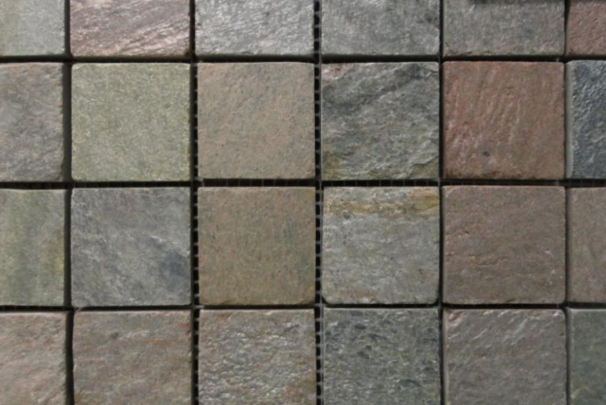 Мозаика каменная - Сланец Copper