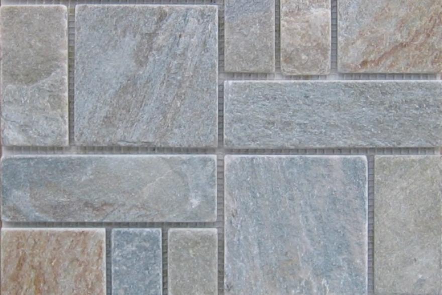 Мозаика каменная - Сланец Римский орнамент