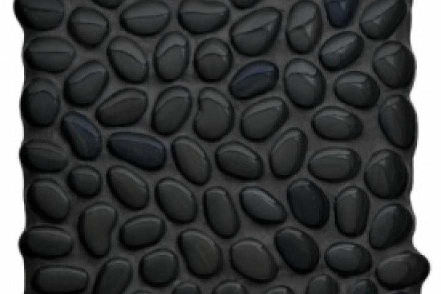 Мозаика стеклянная - Black Button