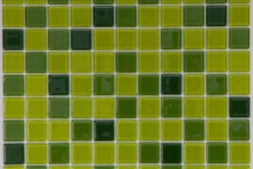 Мозаика стеклянная - Ultra Green