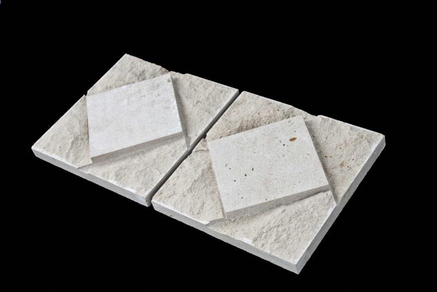 Плитка пиленная - Доломит ромб - 2