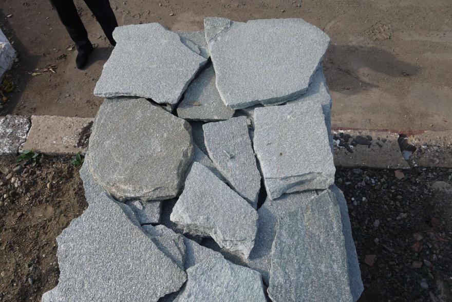 Плитняк - Серебрит галтованный - 2