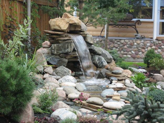 Мини водопад для дома