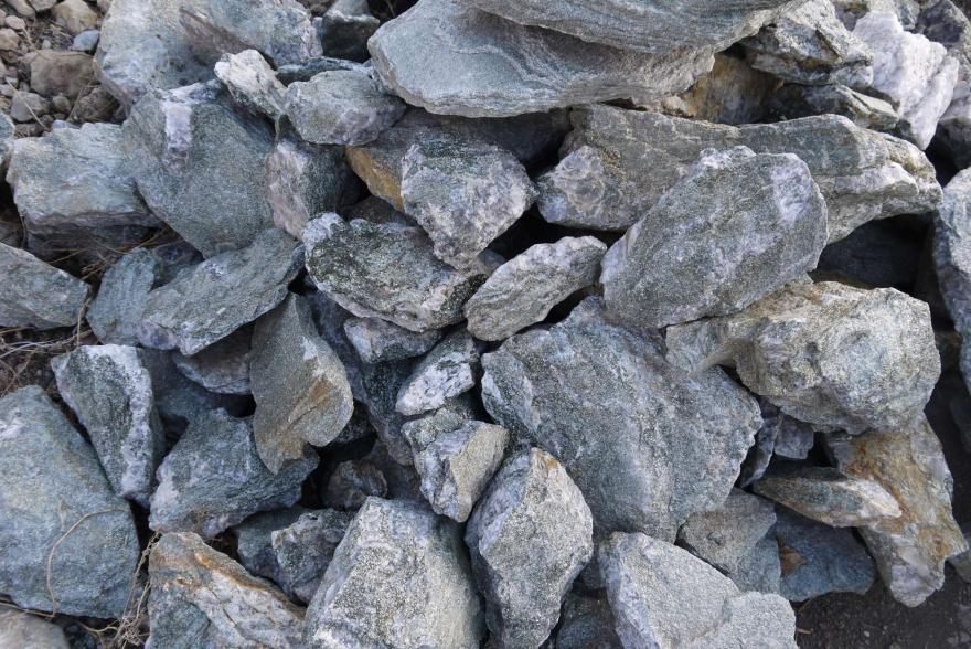 Ландшафтный камень - Серебрит окварцованный